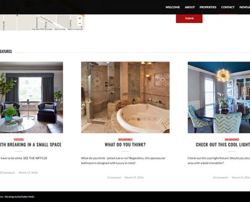 CMB Homes Website - Complete Branding Solution - Red Rubber Media