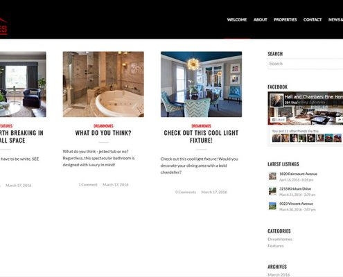 CMB Homes Website - Complete Branding Solution - Red Rubber Media
