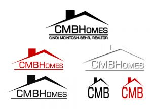 CMB Homes Logos - Complete Branding Solution - Red Rubber Media