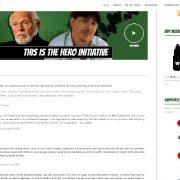 Hero Initiative Website Redesign - Red Rubber Media