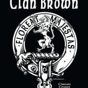 Clan Brown Tshirt Pocket Art