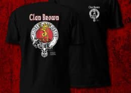 Clan Brown Men's Tshirt