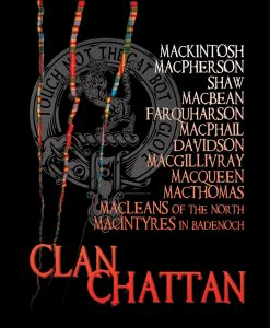 Clan Chattan Scotland Custom T-shirts © RedRubberMedia.com