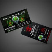 Celtic Jackalope / Royal Publishing Custom Business Cards
