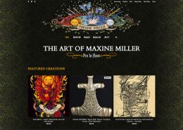 Maxine Miller Studios - Portfolio Webstore - by Red Rubber Media