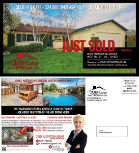 CMB Homes Just Sold Postcard - Complete Branding Solution - Red Rubber Media