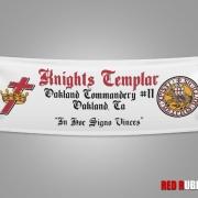 Art created for Knights Templar custom banners