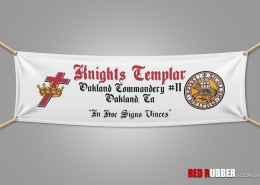 Art created for Knights Templar custom banners