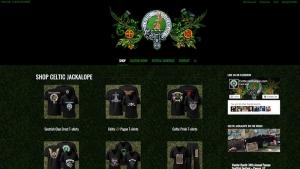 Festival Vendor E-Store created for CelticJackalope.com • Site design by Red Rubber Media